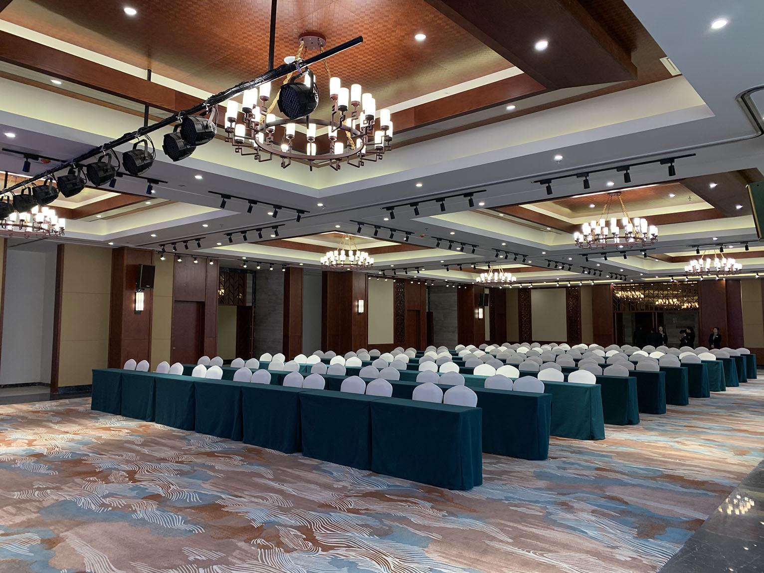 【京邦·會議系統案例】東海青松林酒店宴會廳